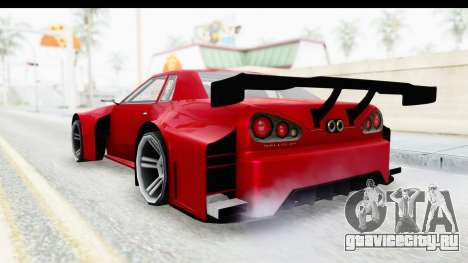 Elegy KraZ Edition Beta 0.8.5 для GTA San Andreas вид слева