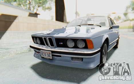 BMW M635 CSi (E24) 1984 IVF PJ1 для GTA San Andreas вид справа