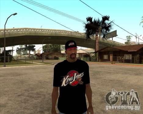 King James T-Shirt для GTA San Andreas