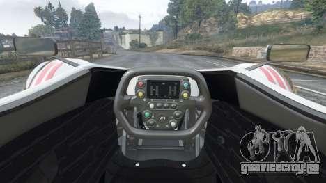 BAC Mono v2.0 для GTA 5 вид спереди справа