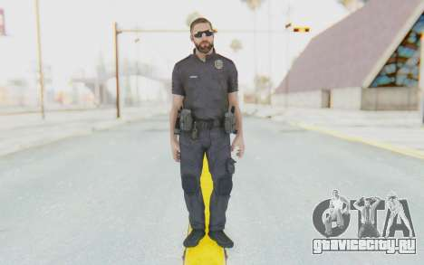 CoD BO2 LAPD v3 для GTA San Andreas второй скриншот