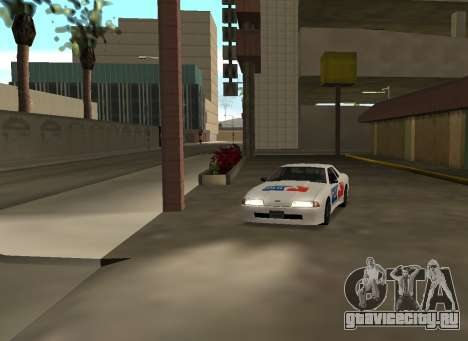New vinyls for Elegy для GTA San Andreas вид слева