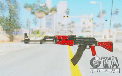CS:GO - AK-47 Laminate Red для GTA San Andreas