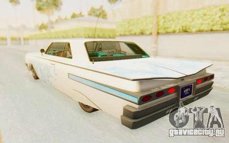 GTA 5 Declasse Voodoo SA Lights для GTA San Andreas