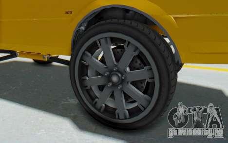 GTA 5 Willard Faction Custom Donk v1 IVF для GTA San Andreas вид сзади