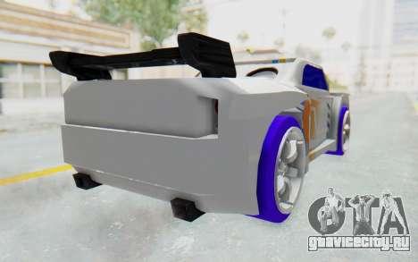 Hot Wheels AcceleRacers 3 для GTA San Andreas вид слева