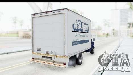 Ford E-350 Cube Truck IVF для GTA San Andreas вид справа