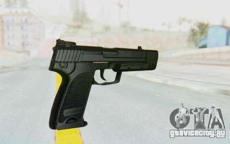 HK USP 45 Black для GTA San Andreas третий скриншот