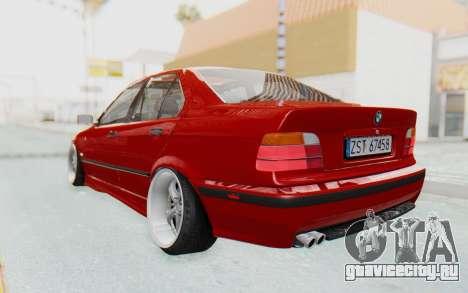 BMW M3 E36 2.5 TDS для GTA San Andreas вид слева
