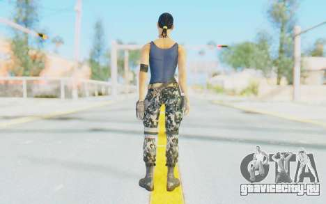 Mortal Kombat X - Jacqui Briggs для GTA San Andreas третий скриншот