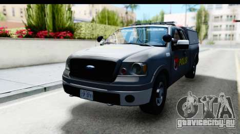 Ford F-150 Indonesian Police K-9 Unit для GTA San Andreas