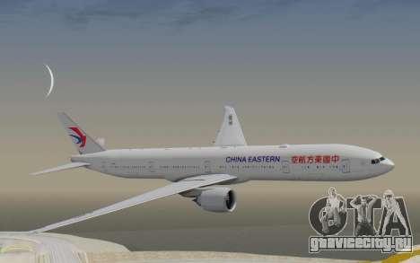 Boeing 777-300ER China Eastern Airlines для GTA San Andreas