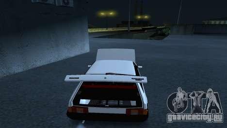 ВАЗ 2108 Stance для GTA San Andreas вид сзади слева
