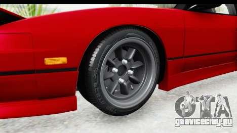Nissan 240SX 1989 v1 для GTA San Andreas вид сзади