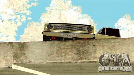 ВАЗ 21013 для GTA San Andreas вид справа