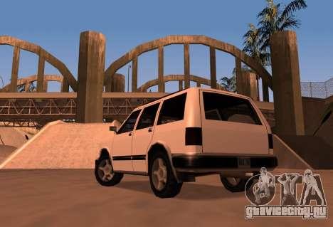 Landstalker SRT8 для GTA San Andreas вид слева
