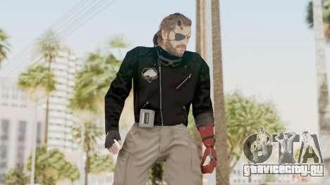 MGSV Phantom Pain Venom Snake Leather Jacket для GTA San Andreas
