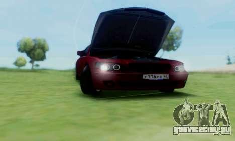BMW 760i для GTA San Andreas вид изнутри