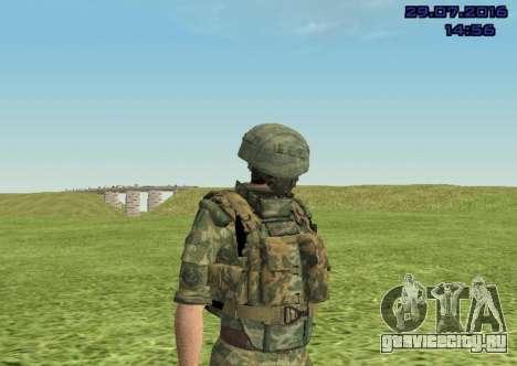 Боец Морской Пехоты для GTA San Andreas пятый скриншот