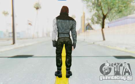 Bucky Barnes (Winter Soldier) v1 для GTA San Andreas третий скриншот