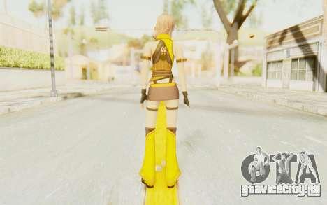 Final Fantasy XIII - Lightning Electronica для GTA San Andreas третий скриншот