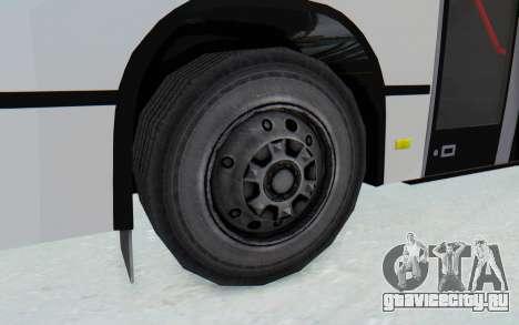 Pylife Bus для GTA San Andreas вид сзади