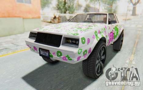 GTA 5 Willard Faction Custom Donk v1 IVF для GTA San Andreas двигатель