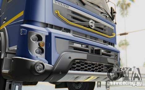 Volvo FMX 6x4 Dumper v1.0 Color для GTA San Andreas вид сбоку