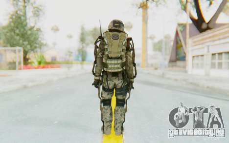 CoD AW US Marine Assault v1 Head A для GTA San Andreas третий скриншот
