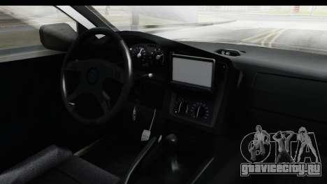 Opel Astra G Variant Polizei Bayern для GTA San Andreas вид изнутри