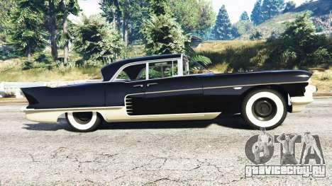 Cadillac Eldorado Brougham 1957 v1.1 для GTA 5 вид слева