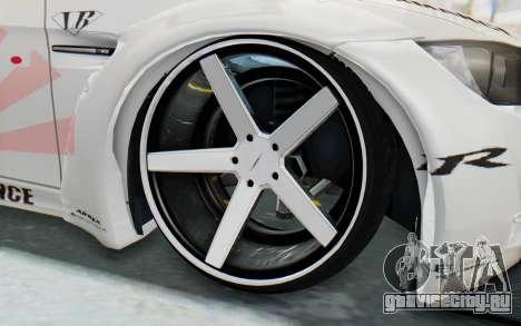 BMW M3 E92 Liberty Walk LB Performance для GTA San Andreas вид сзади