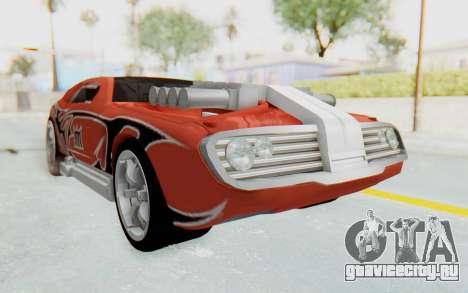 Hot Wheels AcceleRacers 2 для GTA San Andreas вид справа