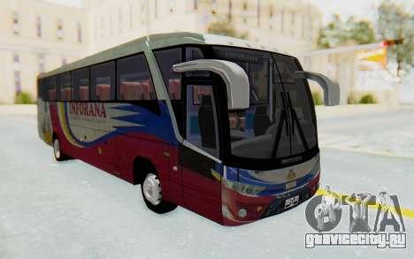 Marcopolo Inforana Bus для GTA San Andreas вид справа