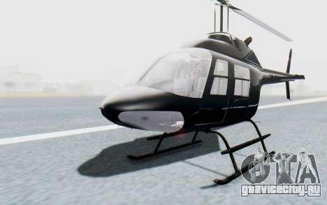 Bell 206B-III Jet Ranger Policja для GTA San Andreas