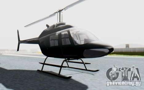 Bell 206B-III Jet Ranger Policja для GTA San Andreas вид справа