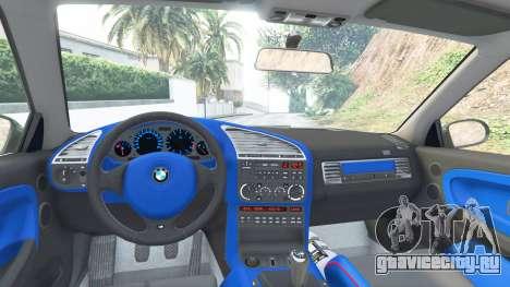 BMW M3 (E36) Street Custom v1.1 для GTA 5 вид справа