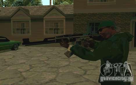 AK-47 Vulcan (SA) для GTA San Andreas третий скриншот