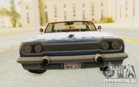 GTA 5 Declasse Voodoo Alternative v1 для GTA San Andreas