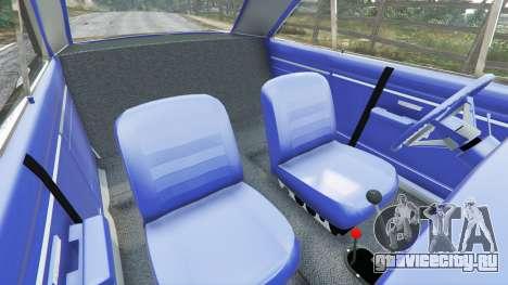 Dodge Dart 1968 Hemi для GTA 5 руль и приборная панель