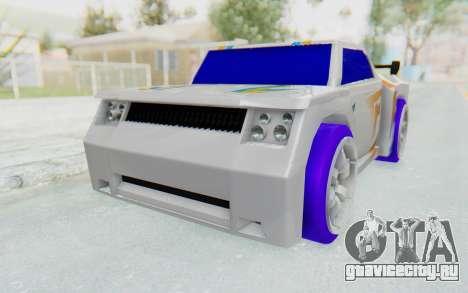Hot Wheels AcceleRacers 3 для GTA San Andreas вид справа