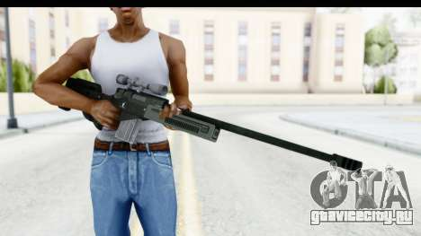 GTA 5 Shrewsbury Sniper Rifle для GTA San Andreas третий скриншот