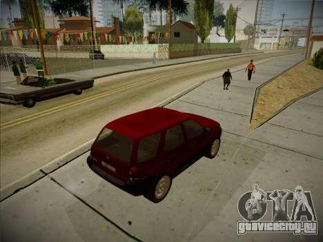 Ford Escape 2005 для GTA San Andreas вид справа