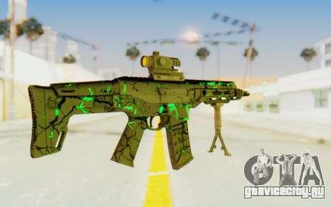 ACR CQB Magma Green для GTA San Andreas третий скриншот