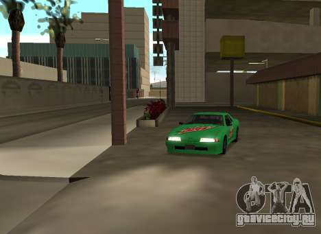New vinyls for Elegy для GTA San Andreas вид сзади