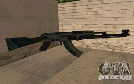AK-47 Vulcan (SA) для GTA San Andreas