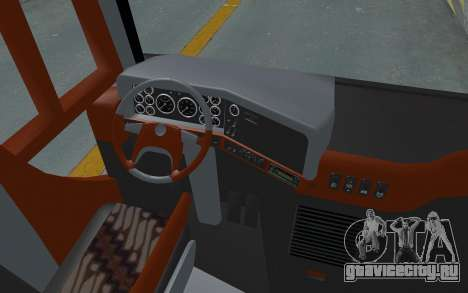 Hino Evo-C Transjakarta Feeder Bus для GTA San Andreas вид сзади
