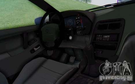 Nissan 300ZX Monster Truck для GTA San Andreas вид изнутри