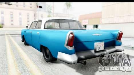 Cabbie Oceanic для GTA San Andreas вид слева
