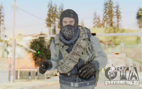 COD BO Bruce Harris Winter для GTA San Andreas